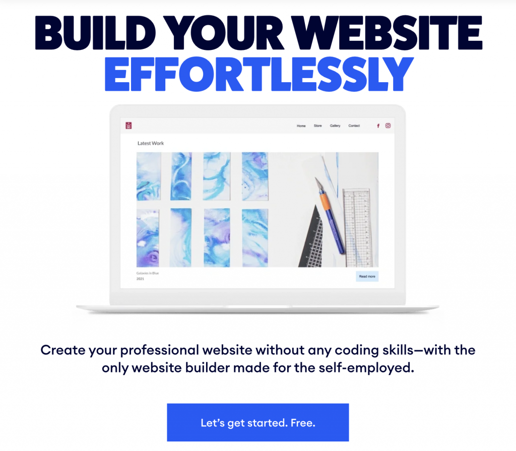 build your website with jimbo interface